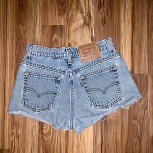 vintage Levi shorts 555